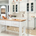 white-kitchen-cabinets-island-Cumming-ga